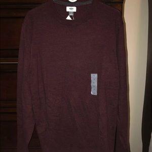 Old Navy Burgundy Sweater